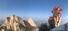 <b>북한산 수놓은 산타</b><br>22일 서울 북한산 만경대에서 산타 복장을 한 쌩곰산악회와 멀티암벽산악회 대원들이 2020년 산악인들의 안전산행 기원과 다가오는 크리스마스를 기념한 퍼포먼스를 하고 있다. 서울/연합뉴스