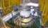 <b>누리호 3단 인증모델(QM) 종합 연소시험</b><br>  과학기술정보통신부와 한국항공우주연구원이 지난 15일 누리호 개발 현장을 공개했다. 사진은 누리호 3단 인증모델(QM) 종합 연소시험 모습. 한국항공우주연구원 제공