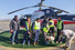 <b> 안나푸르나 실종자 수색 구조견 투입</b><Br>  안나푸르나 실종자 수색을 위해 사고현장으로 투입되는 네팔 구조당국 관계자들이 22일(현지시간) 포카라공항 헬기이착륙장에서 구조견과 함께 출동 준비를 하고 있다. 네팔 구조당국은 실종자 매몰지점 집중 수색을 위해 이날부터 구조견을 투입했다. 포카라[네팔]/연합뉴스