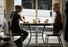 최근 영업을 재개한 캐나다 밴쿠버의 식당 라운델 카페에서 15일(현지시간) 신종 코로나바이러스 감염증(코로나19) 확산 방지를 위해 빈 의자에 마네킹을 앉혀 두는 ''사회적 거리두기''를 실천하고 있다. 연합뉴스
