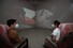 "<b>""낯선 전쟁: 복원되지 못한 것들을 위하여""</b><Br> 23일 오후 서울 종로구 국립현대미술관서울관에서 ''낯선 전쟁: 복원되지 못한 것들을 위하여''언론 간담회 참석자들이 전시를 둘러보고 있다. 한국전쟁 발발 70주년 기념으로 개최하는 전시는 오는 25일 개막한다."
