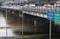 6일 성동교 아래 통제된 동부간선도로에 물이 들어차 있다. 연합뉴스