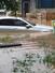 8일 오전 광주 광산구 선암동 주택가가 폭우에 침수돼 있다. 광산구는 호남대에 주차장을 개방하고 인근 주민들에게 차량을 이동하도록 하고 있다. 연합뉴스