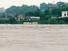 8일 오전 전남 나주시 영산대교에 홍수경보가 내려져 황토물이 넘실거리고 있다. 광주전남지역은 이틀간 내린 폭우로 도로가 잠기고 산사태가 발생하는 등 피해가 잇따르고 있다. 연합뉴스