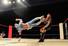 30일 북한 평양 류경정주영체육관에서 개막한 평양 국제프로레슬링대회에서 선수들이 멋진 경기를 선보이고 있다. 연합%!^r%!^n