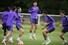 손흥민(토트넘·가운데)이 리버풀과의 2018-2019 유럽축구연맹(UEFA) 챔피언스리그(UCL) 결승을 앞두고 27일(현지시각) 영국 북런던 토트넘 홋스퍼 FC 트레이닝 그라운드에서 열린 팀 훈련에 참여하고 있다. 런던/AFP 연합뉴스