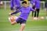 손흥민(토트넘)이 리버풀과의 2018-2019 유럽축구연맹(UEFA) 챔피언스리그(UCL) 결승을 앞두고 27일(현지시각) 영국 북런던 토트넘 홋스퍼 FC 트레이닝 그라운드에서 열린 팀 훈련에 참여하고 있다. 런던/AFP 연합뉴스