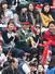 29일 서울 잠실야구장에서 열린 2014 프로야구 개막전 두산-LG의 경기. 서울시장 출마를 선언한 정몽준 새누리당 의원(가운데)이 경기를 관람하고 있다. 2014.3.29 /연합뉴스%!^r%!^n