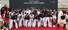 29일 오전 경기도 수원야구장에서 프로야구 10구단 수원 KT 위즈 출정식이 열려 선수와 치어리더, 마스코트가 %!^a파이팅%!^a을 외치고 있다. 2014.3.29 /연합뉴스