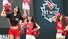 29일 오전 경기도 수원야구장에서 프로야구 10구단 수원 KT 위즈 출정식이 열려 수원 KT 치어리더들이 흥겨운 응원을 선보이고 있다. 2014.3.29 /연합뉴스