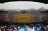 29일 서울 잠실야구장에서 열린 2014 프로야구 개막전 두산-LG의 경기. 관중석을 가득 메운 관중들이 경기장을 바라보고 있다. 프로야구 잠실 개막전은 경기 시작 52분만에 매진을 기록했다. 2014.3.29 /연합뉴스