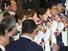제22회 소치동계올림픽 대한민국선수단이 25일 오후 인천공항을 통해 귀국해 기념촬영을 하고 있다. 2014.2.25.연합뉴스