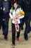 2014 소치 동계올림픽 대표팀 선수단 이상화가 25일 오후 인천국제공항을 통해 귀국해 환영행사를 마치고 팬들의 환호를 받으며 청사를 나서고 있다. 2014.2.25/뉴스1