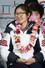 2014 소치 동계올림픽 대표팀 심석희 선수가 25일 오후 인천국제공항을 통해 귀국한 뒤 열린 해단식에서 밝은 표정을 짓고 있다. 2014.2.25/뉴스1