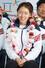 2014 소치 동계올림픽 대표팀 이상화 선수가 25일 오후 인천국제공항을 통해 귀국한 뒤 열린 해단식에서 밝은 표정을 짓고 있다. 2014.2.25/뉴스1