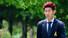 축구대표팀 손흥민이 13일 오후 경기도 파주 NFC(대표팀 트레이닝센터)로 들어와 취재진과 인터뷰를 하고 있다. 2014.5.13/뉴스1