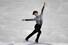 일본의 우노 쇼마가  2017~2018 국제빙상경기연맹(ISU) 피겨 시니어 그랑프리 파이널 남자 싱글 쇼트프로그램 연기를 펼쳐보이고 있다. 나고야/AFP 연합뉴스