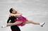 애나 카펠리니-루카 라노트 이탈리아 짝이  2017~2018 국제빙상경기연맹(ISU) 피겨 시니어 그랑프리 파이널 아이스댄스 쇼트프로그램 연기를 선보이고 있다. 나고야/AFP 연합뉴스