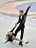 매드슨 초크-에반 베이츠 미국 짝이  2017~2018 국제빙상경기연맹(ISU) 피겨 시니어 그랑프리 파이널 아이스댄스 쇼트프로그램 연기를 선보이고 있다. 나고야/EPA 연합뉴스