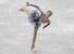 러시아의 알리나 자기토바가  2017~2018 국제빙상경기연맹(ISU) 피겨 시니어 그랑프리 파이널 여자 싱글 쇼트프로그램 연기를 펼쳐보이고 있다. 나고야/AP 연합뉴스