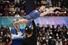유시아유-장하오 중국 짝이 2017~2018 국제빙상경기연맹(ISU) 피겨 시니어 그랑프리 파이널 페어 프리스케이팅 연기를 펼쳐보이고 있다. 나고야/AFP 연합뉴스