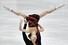 예브게니아 타라소바-블라디미르 모로조프 러시아 짝이  일본 나고야에서 열린 2017~2018 국제빙상경기연맹(ISU) 피겨 시니어 그랑프리 파이널 페어 쇼트프로그램 연기를 선보이고 있다. 나고야/EPA 연합뉴스%!^r%!^n