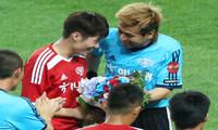 박지성-김민지 커플 결혼식…하객도 '월드 스타'