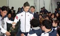 '결전 의지' 2014소치동계올림픽 한국 선수단 결단식