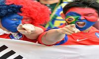 월드컵 경기장과 거리에서의 응원 '열기'