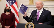 """바이든 """"미국 입국자 격리""""…코로나 대응 총력전"""