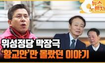 위성정당 막장극…'황교안'만 몰랐던 이야기