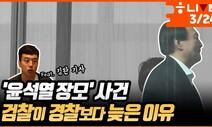 [한겨레 라이브] '윤 총장 장모' 사건, 검찰이 경찰보다 늦은 이유