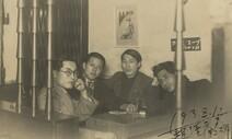 [단독] 시인 백석·화가 이인성 1938년 다방에서 '찰칵'