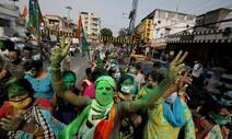 코로나 확진자 폭증 직격탄에 인도 집권당 지방선거서 참패