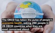 """OECD """"한국, 35.1% '코로나 소득 피해'… 81.9% '미래 살림 걱정'"""""""