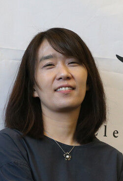 소설가 한강. <한겨레> 자료사진