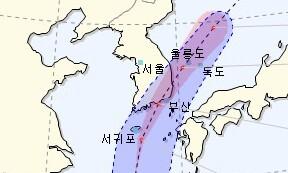 태풍 '장미' 북상 제주도 비상…오전 10시 전후 고비