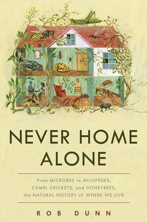 2018년 미국에서 첫 출간된 <집은 결코 혼자가 아니다>의 책 표지.
