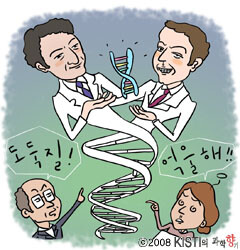 DNA 이중나선에 얽힌 드라마틱한 이야기