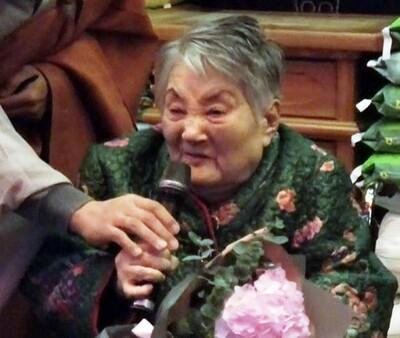 임기란 어머니는 2017년 11월 서울 조계사 대웅전에서 열린 시상식에 참석해 불교인권위원회에서 주는 '불교인권상'을 받았다. 말년의 마지막 공식 활동이 됐다. <한겨레> 자료사진