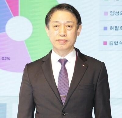 이광수 새 한국미술협회장. 한국미협 제공