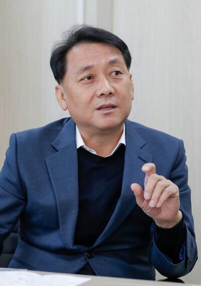 이광재 더불어민주당 K-뉴딜위원회 총괄본부장