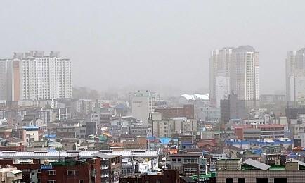 일요일까지 전국 황사 영향권…서울·강원 등 위기경보