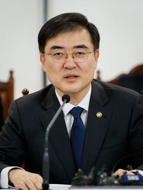 손병두 금융위원회 부위원장. 자료: 금융위