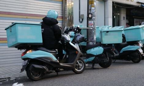 긴 장마·거리두기에 배달노동자 교통사고 올 7~9월 집중