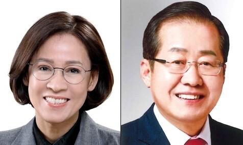 홍준표 '깜짝 등판'…이상식·이인선과 3파전