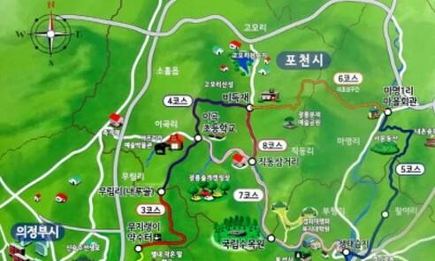 광릉에 '유네스코 국립수목원길'