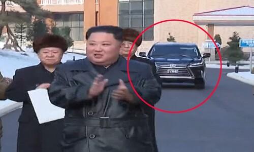 김정은의 새 전용차?