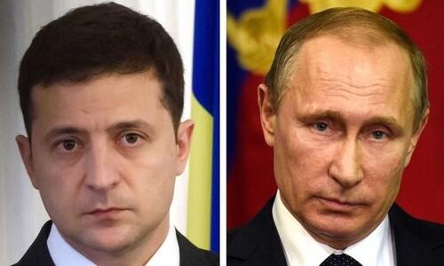 러시아-우크라이나 정상, 5년8개월만에 평화협상 첫 대면