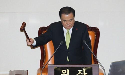 4+1 합의 예산안, 한국당 반발 속 통과